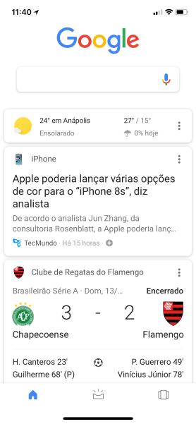 Google iOS - aprendizado de máquina